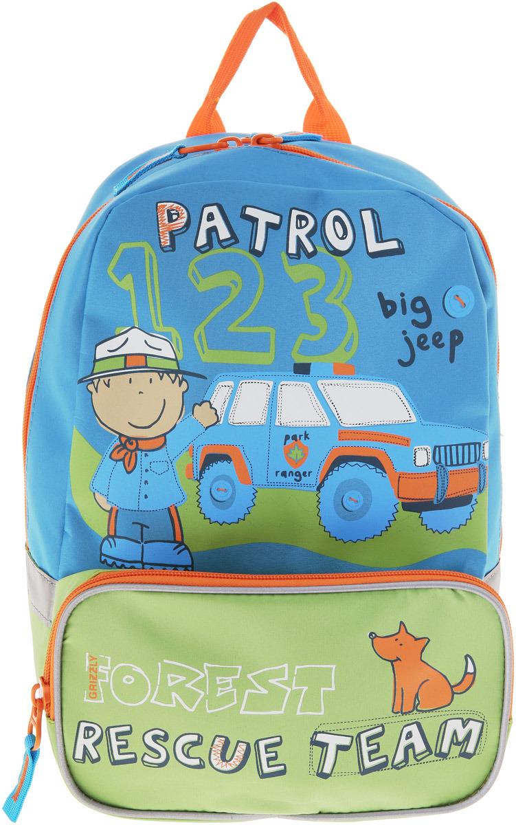 Grizzly Рюкзак детский цвет бирюзовый RS-890-4