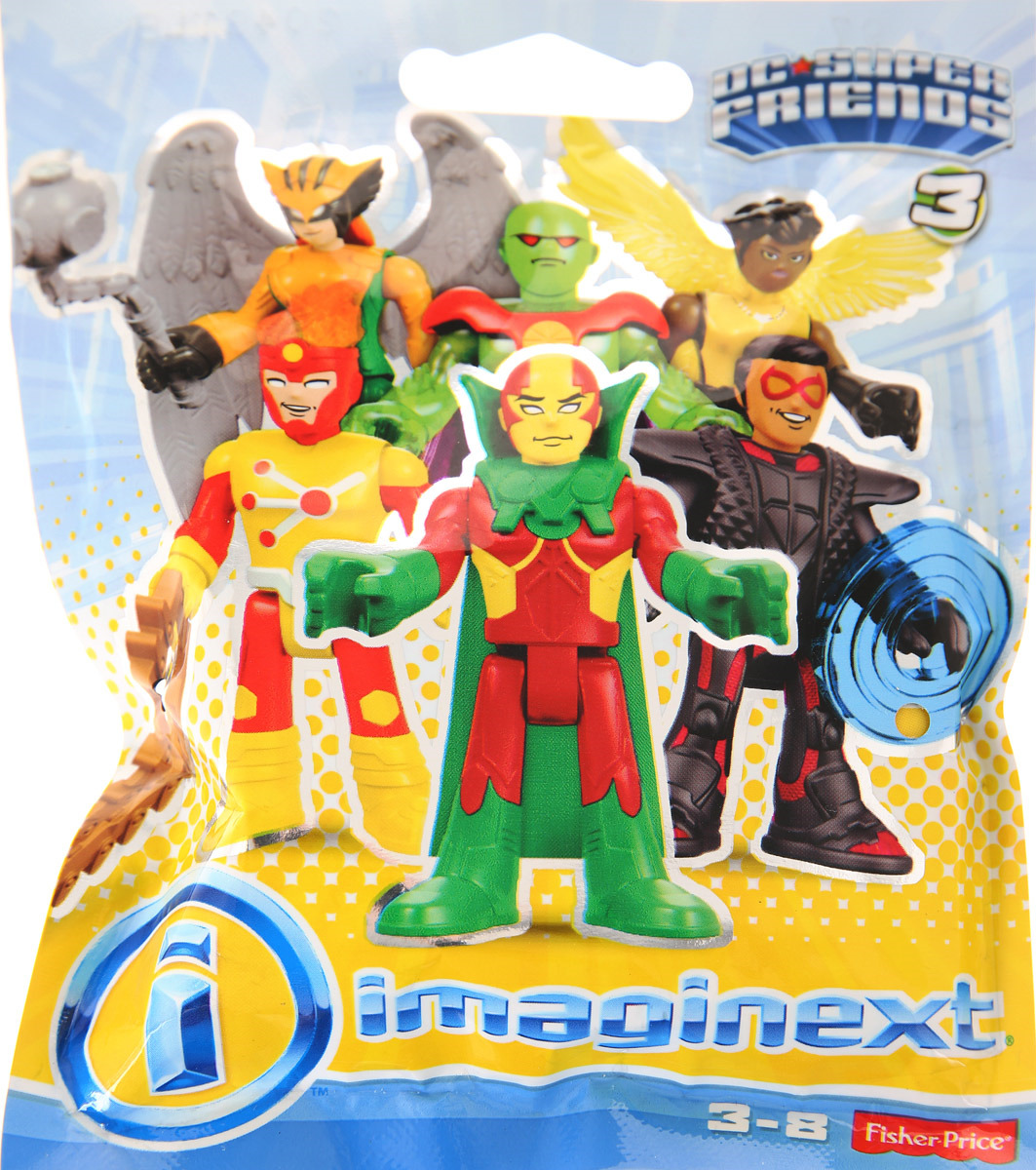Фигурка Imaginext DC Super Friends, DMY00_DRK85_DRK86 mattel игровой набор dc super heroes imaginext трансформация бэтмена