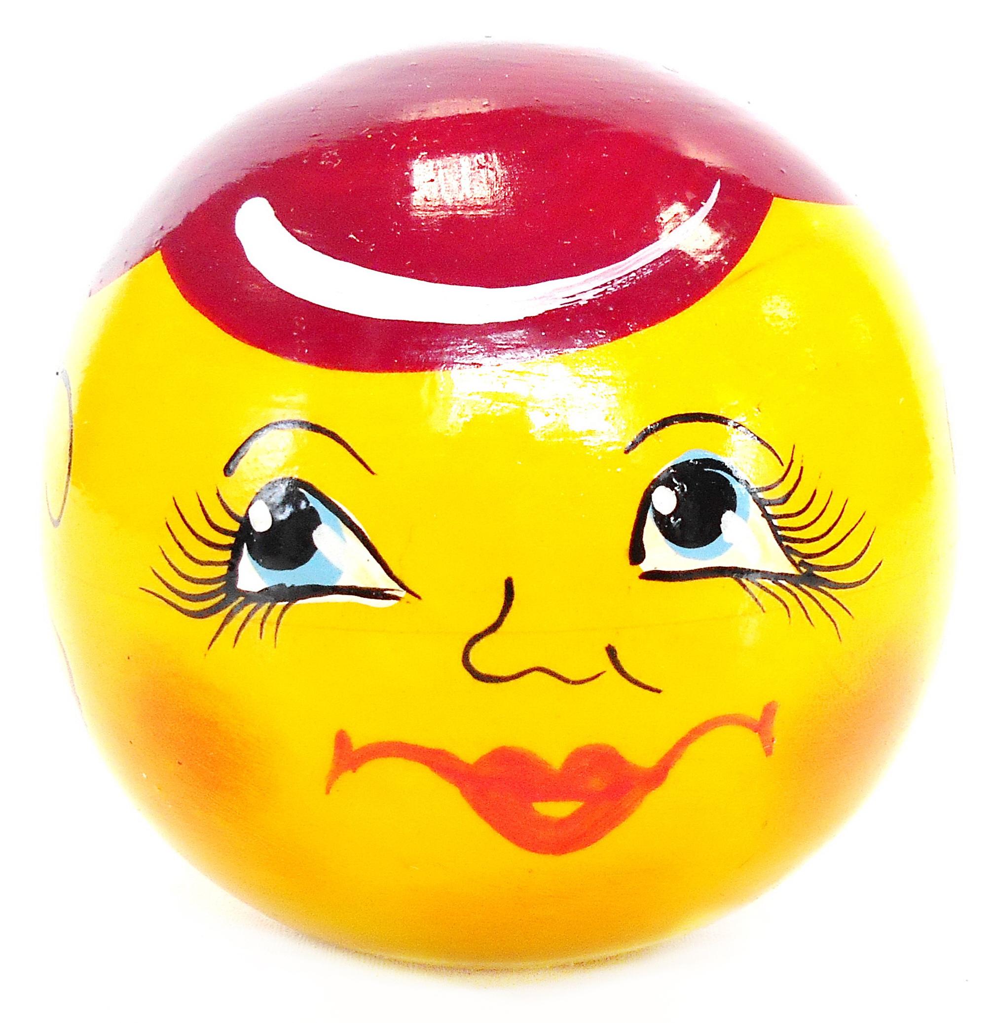 Игрушка детская Taowa Неваляшка, желтый