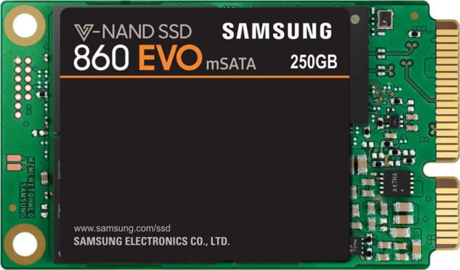 SSD диск Samsung 860 EVO mSATA, 250 ГБ