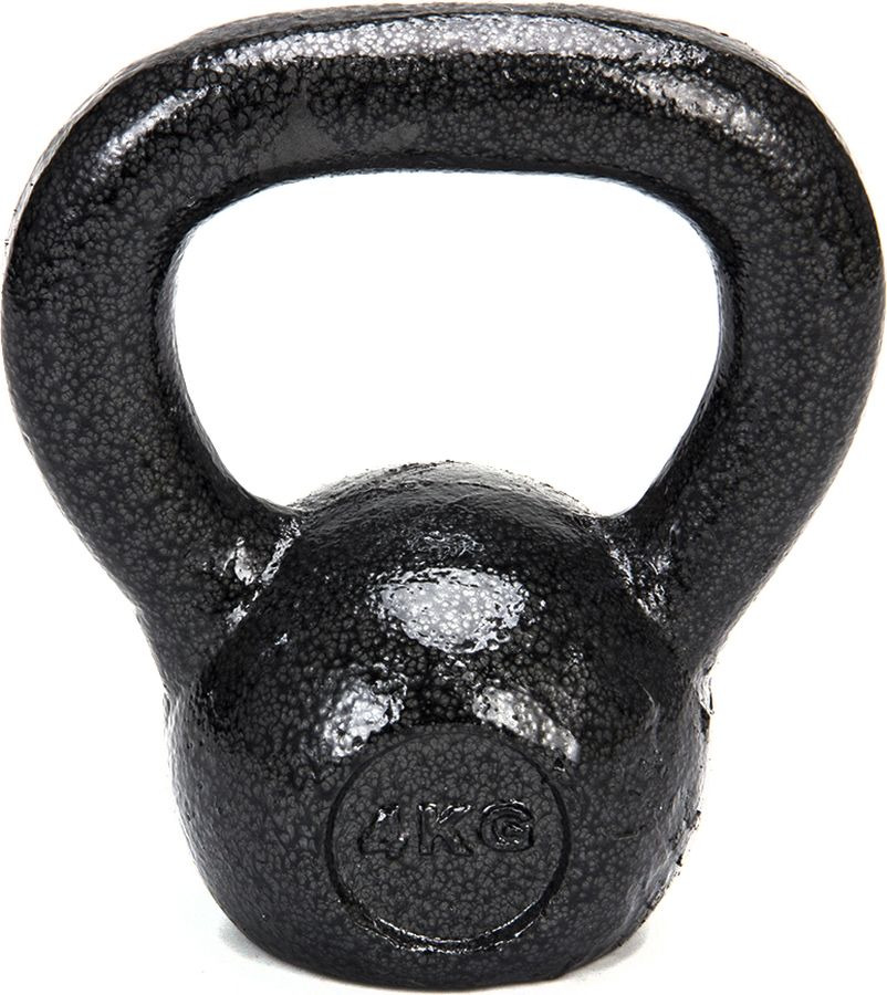 Гиря Silapro, 089-008, 4 кг гиря iron head медведь 32 0 кг