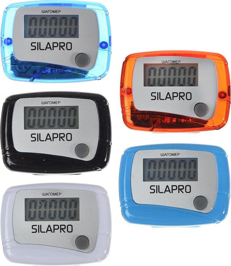 Шагомер Silapro, 190-001, 4,8 х 5 см