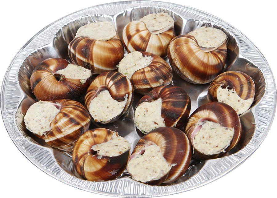 Свежие морепродукты Азов Трейд Улитки по-лимузински, тарелка, 170 г свежие морепродукты азов трейд улитки в белом соусе тарелка 170 г