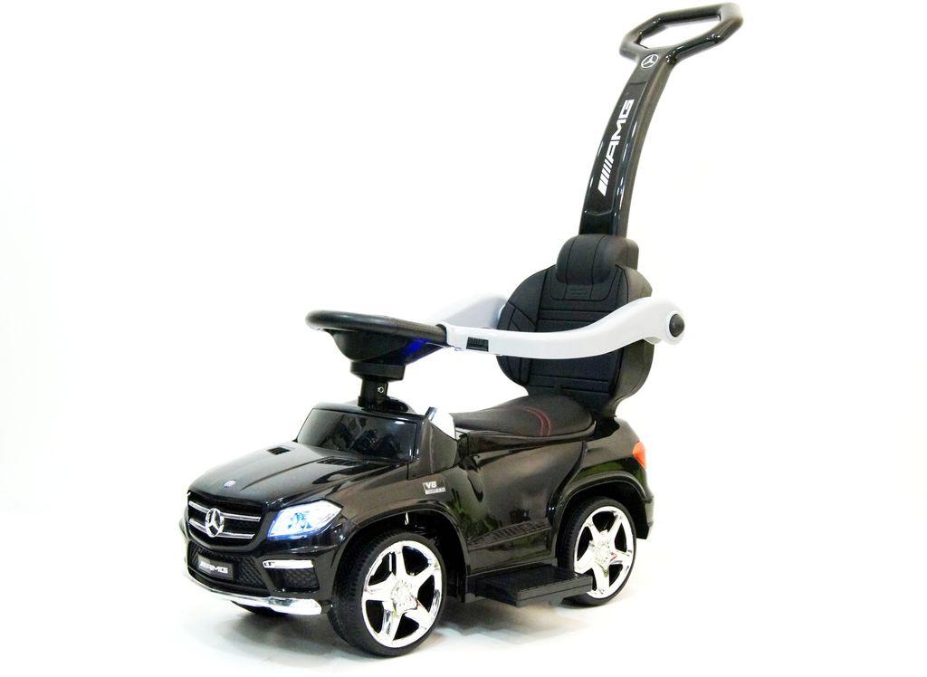 Толокар  RiverToys  Mercedes-Benz GL63, 4665294267865, черный