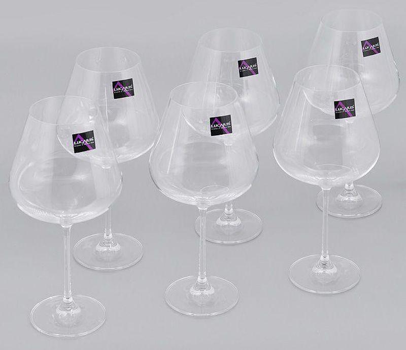 Набор бокалов для бургундского Lucaris Hong Kong, Л8452, 910 мл, 6 шт набор vegetation hong