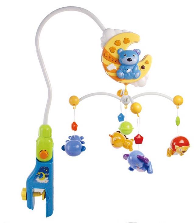 Музыкальная игрушка Everflo Веселый медвежонок HS0221377 разноцветный музыкальная игрушка медвежонок августин