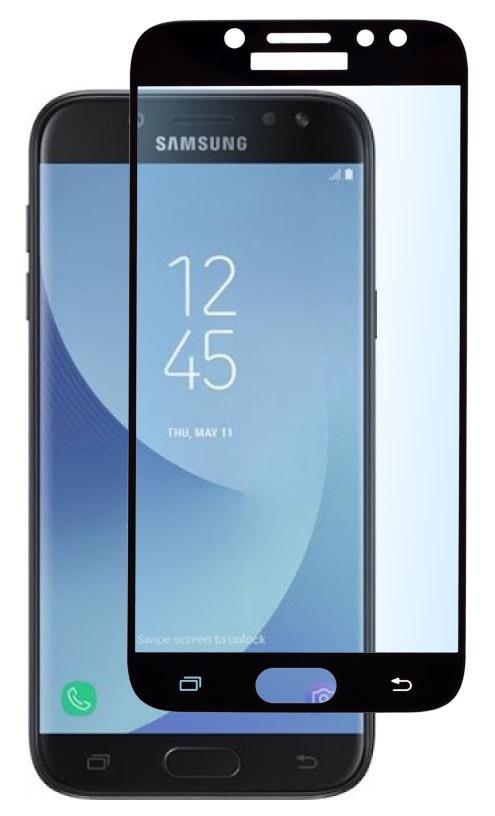 Защитное стекло skinBOX, для Samsung Galaxy J7, 4660041404234, черный аксессуар защитное стекло для samsung galaxy j7 2017 mobius 3d full cover black