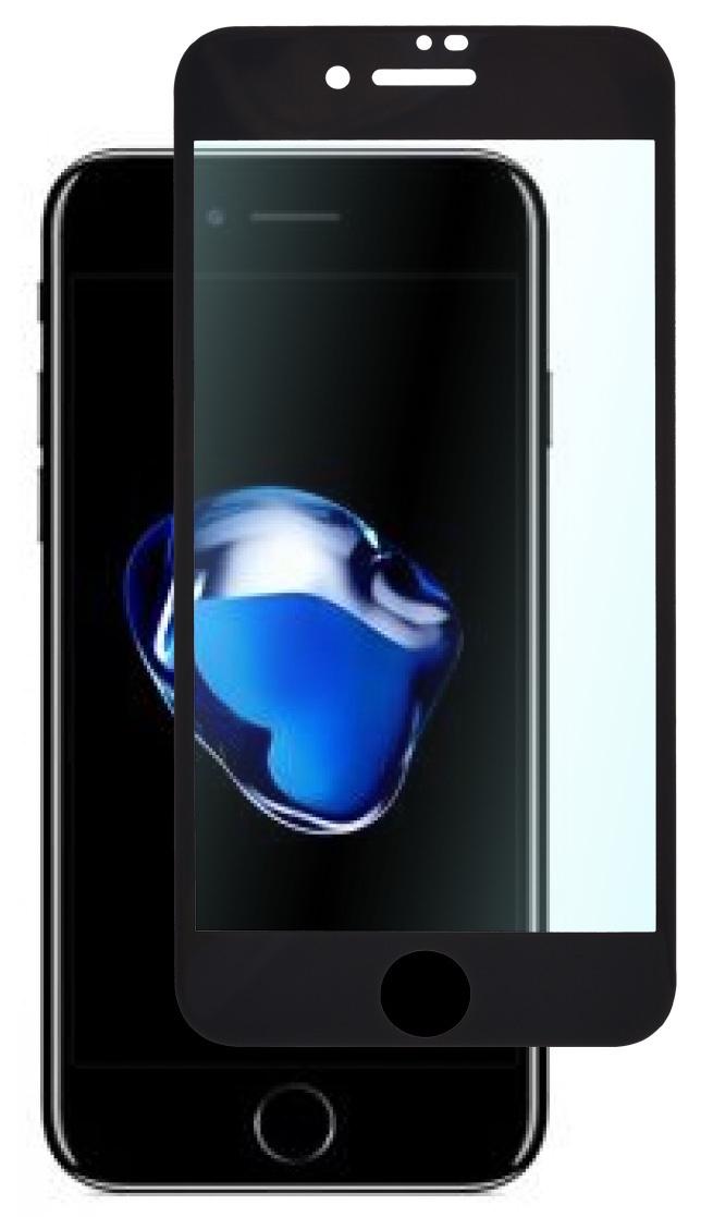 Защитное стекло skinBOX для Iphone 7/8, 4660041406429, черный защитное стекло 5d glass shield iphone 7 8 ip7dl черный