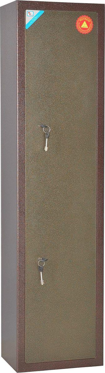 Фото - Сейф оружейный Меткон ОШ-2, медь, бронза, 140 х 35 х 25 см сейф оружейный меткон ош 3 медь бронза 149 х 25 х 25 см
