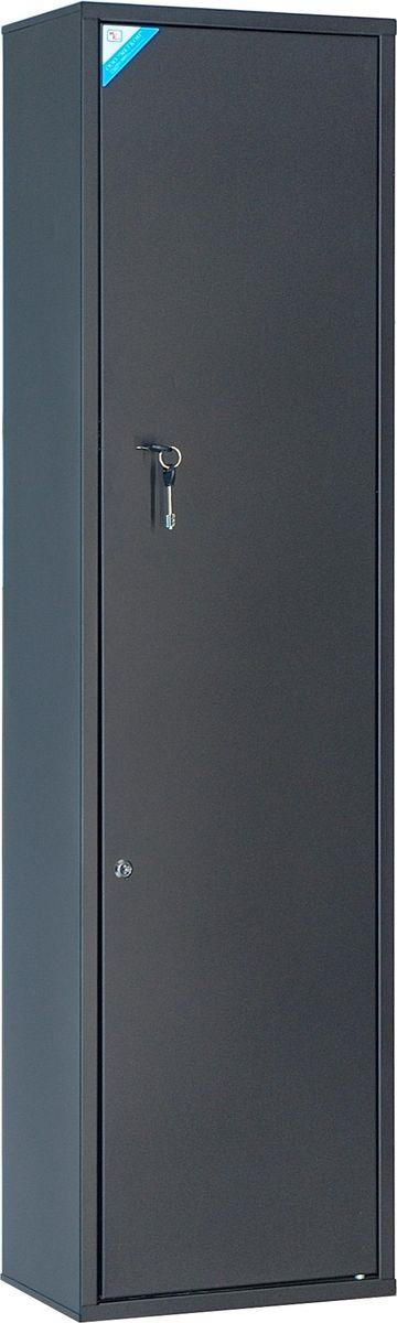 Сейф оружейный Меткон ОШН-6, черный, 147 х 40 х 25 см