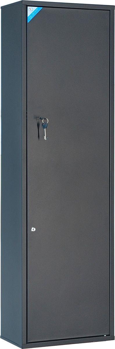 Сейф оружейный Меткон ОШН-8, черный, 147 х 45 х 25 см