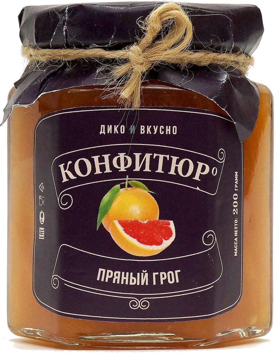 Конфитюр Дико Вкусно Пряный грог, 200 г в г ананьев бар без алкоголя