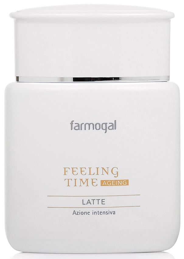 Антивозрастное молочко для снятия макияжа с коллагеном Farmogal FEELING TIME-AGEING MILK, 150 мл