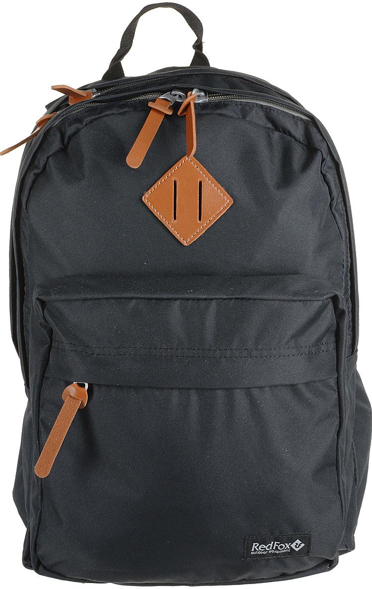 Рюкзак детский городской Red Fox Bookbag M2, цвет: черный, 25 л рюкзак туристический red fox light 80 v4 цвет авокадо 80 л