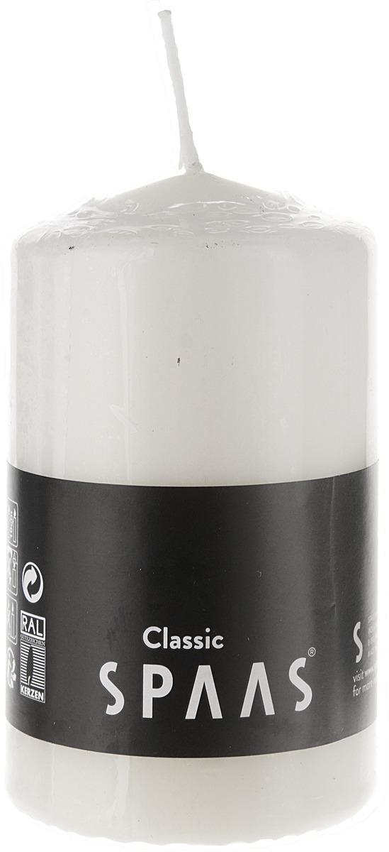 Свеча ароматизированная Spaas, цвет: кремовый, 23 ч, 6 x 10 см свеча декоративная win max каллы цвет кремовый 6 см х 6 см х 10 см