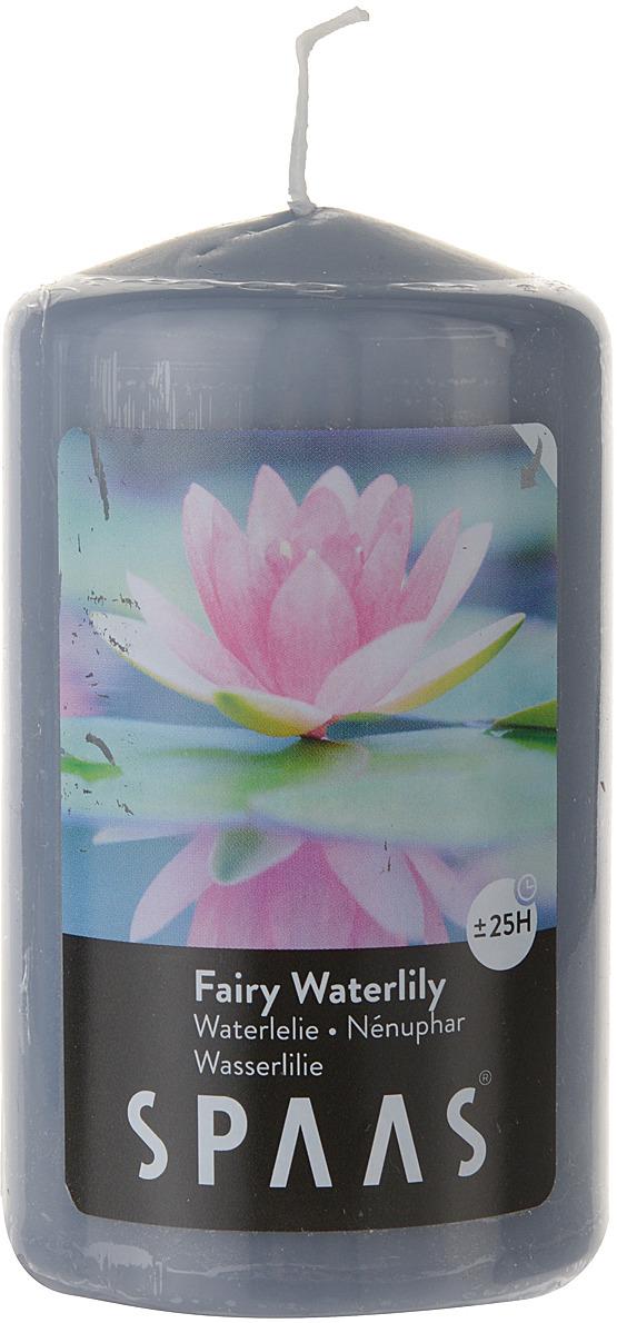 Свеча ароматизированная Spaas Волшебная кувшинка, 25 ч, 6 x 10 см свеча ароматизированная spaas антитабак с крышкой 29 ч