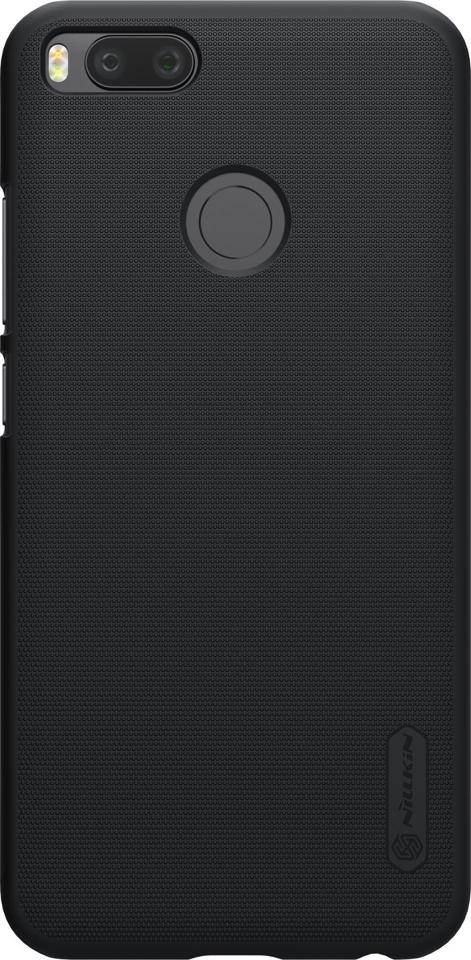 Накладка Nillkin Super Frosted для Xiaomi Mi 5X/A1, 6902048145238, черный защитный чехол nillkin super frosted shield для xiaomi mi 9 gold