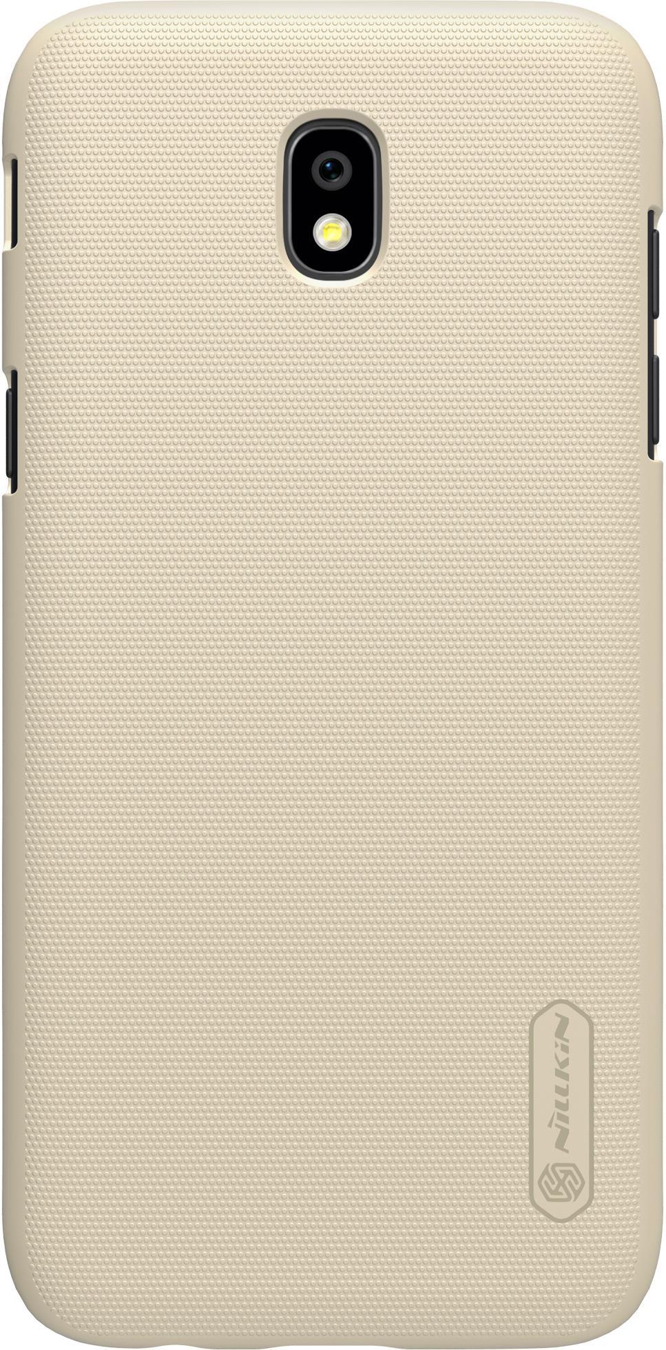 Накладка Nillkin Super Frosted для Samsung Galaxy J5 (2017), 6902048143784, золотистый