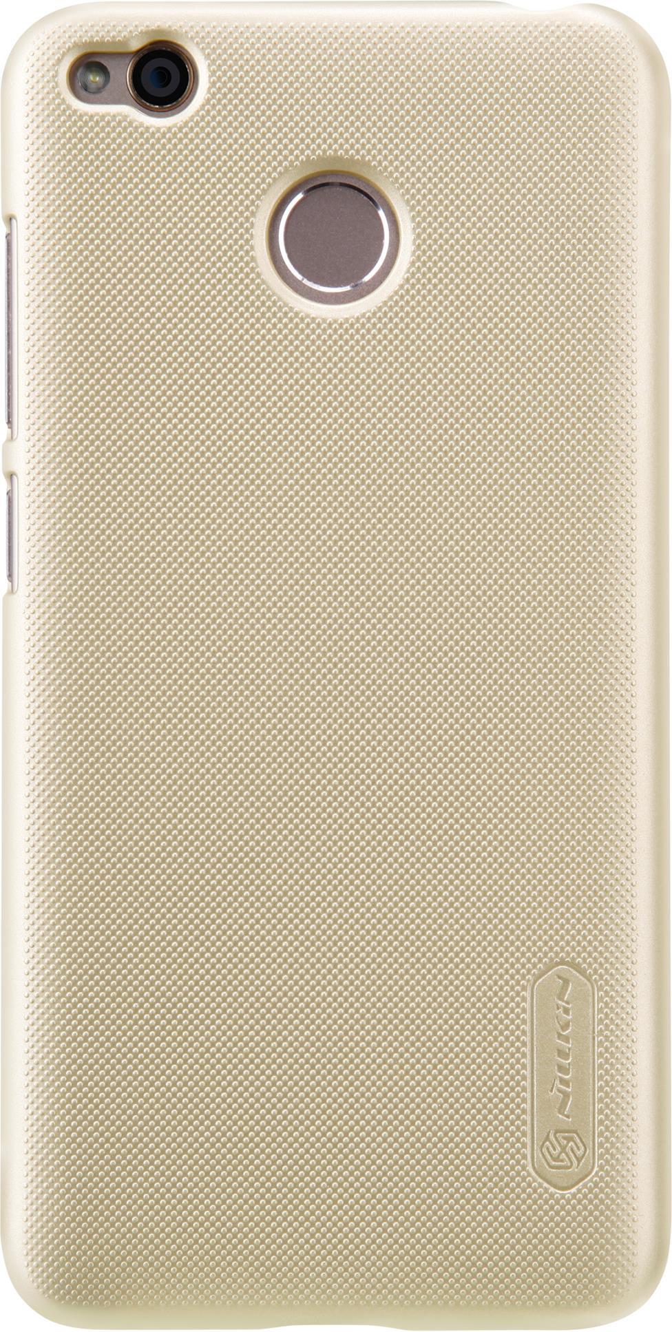 Накладка Nillkin Super Frosted для Xiaomi Redmi 4X, 6902048138940, золотистый