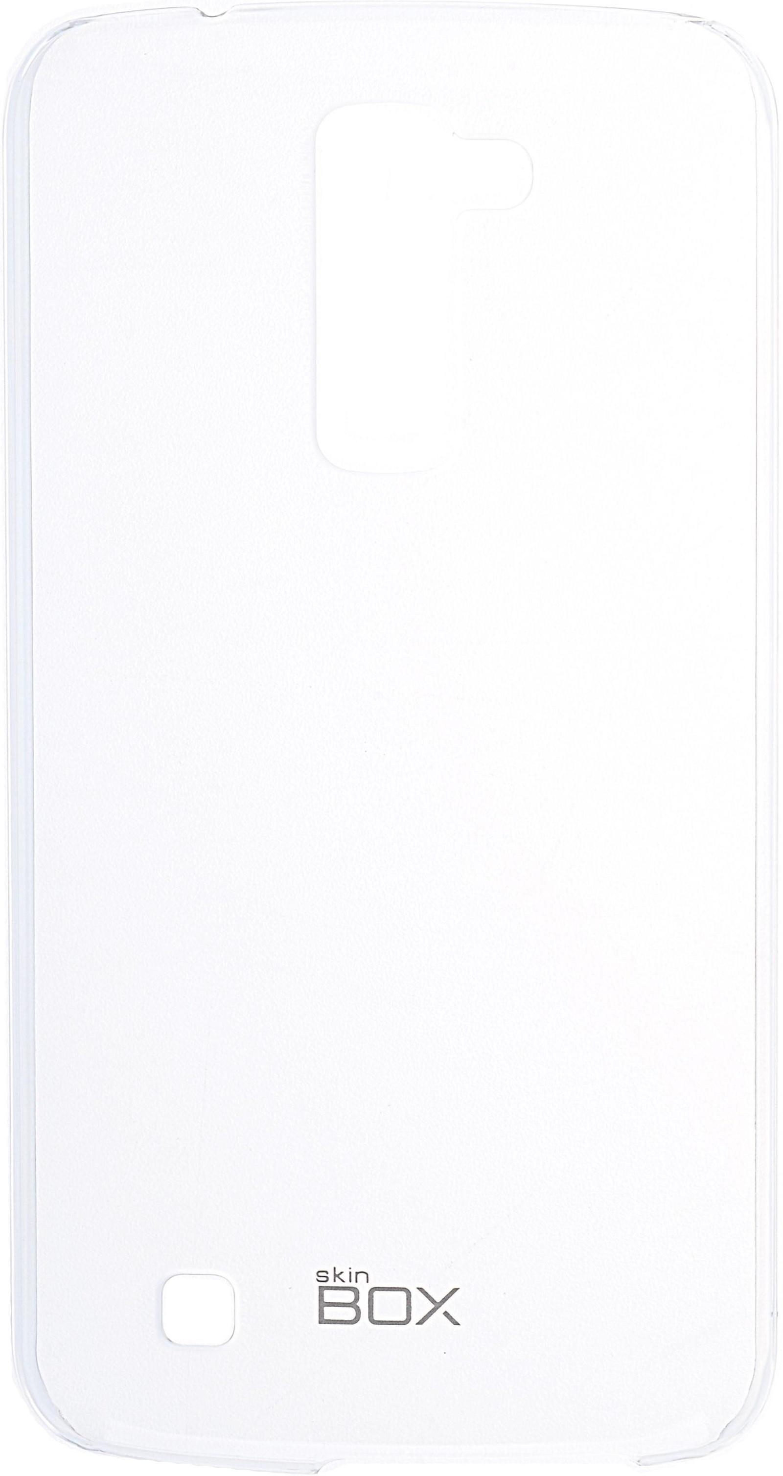 Накладка Skinbox Crystal для LG K10, 2000000091754, прозрачный