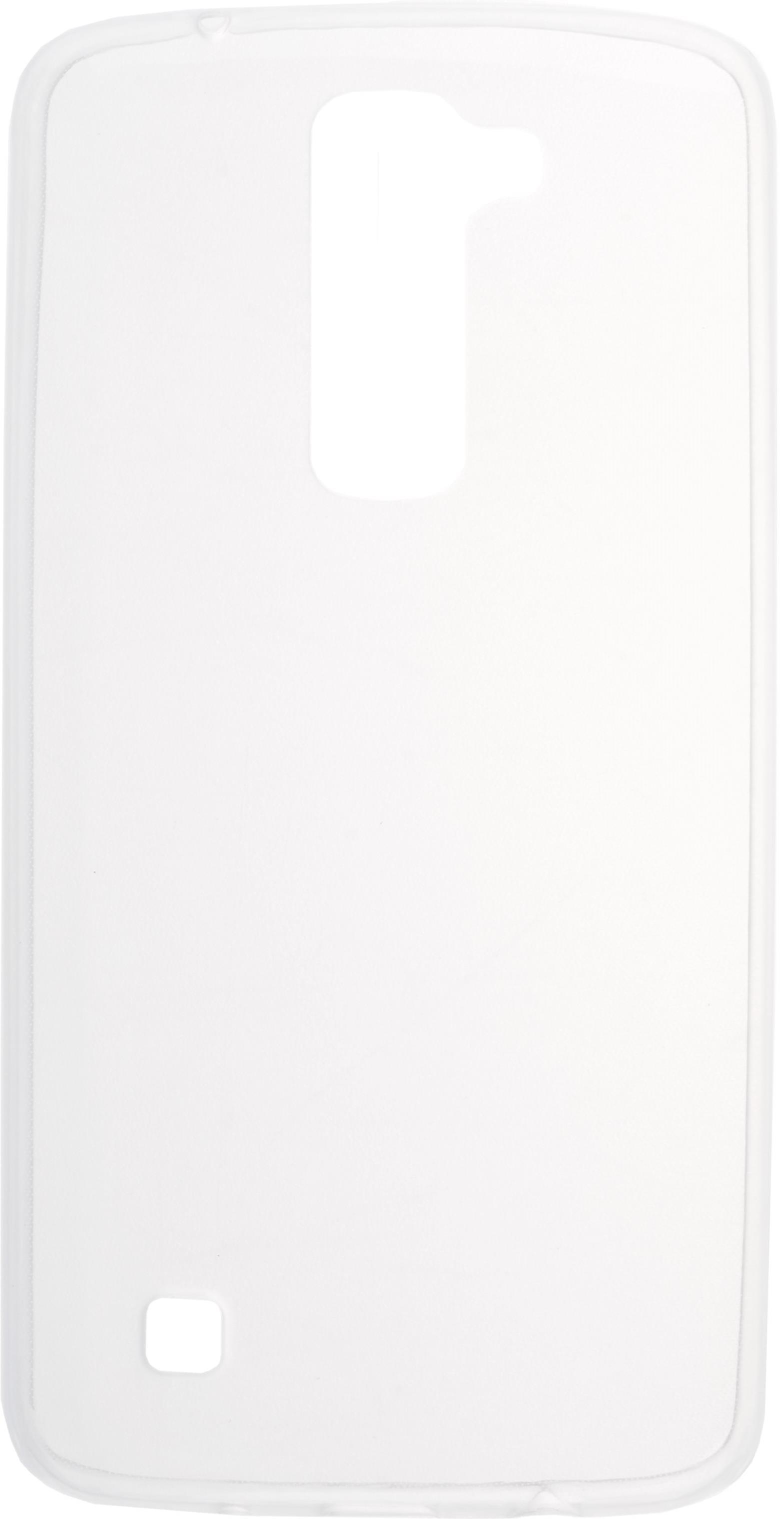 Накладка Skinbox Slim Silicone для LG K8, 2000000094502, прозрачный стоимость