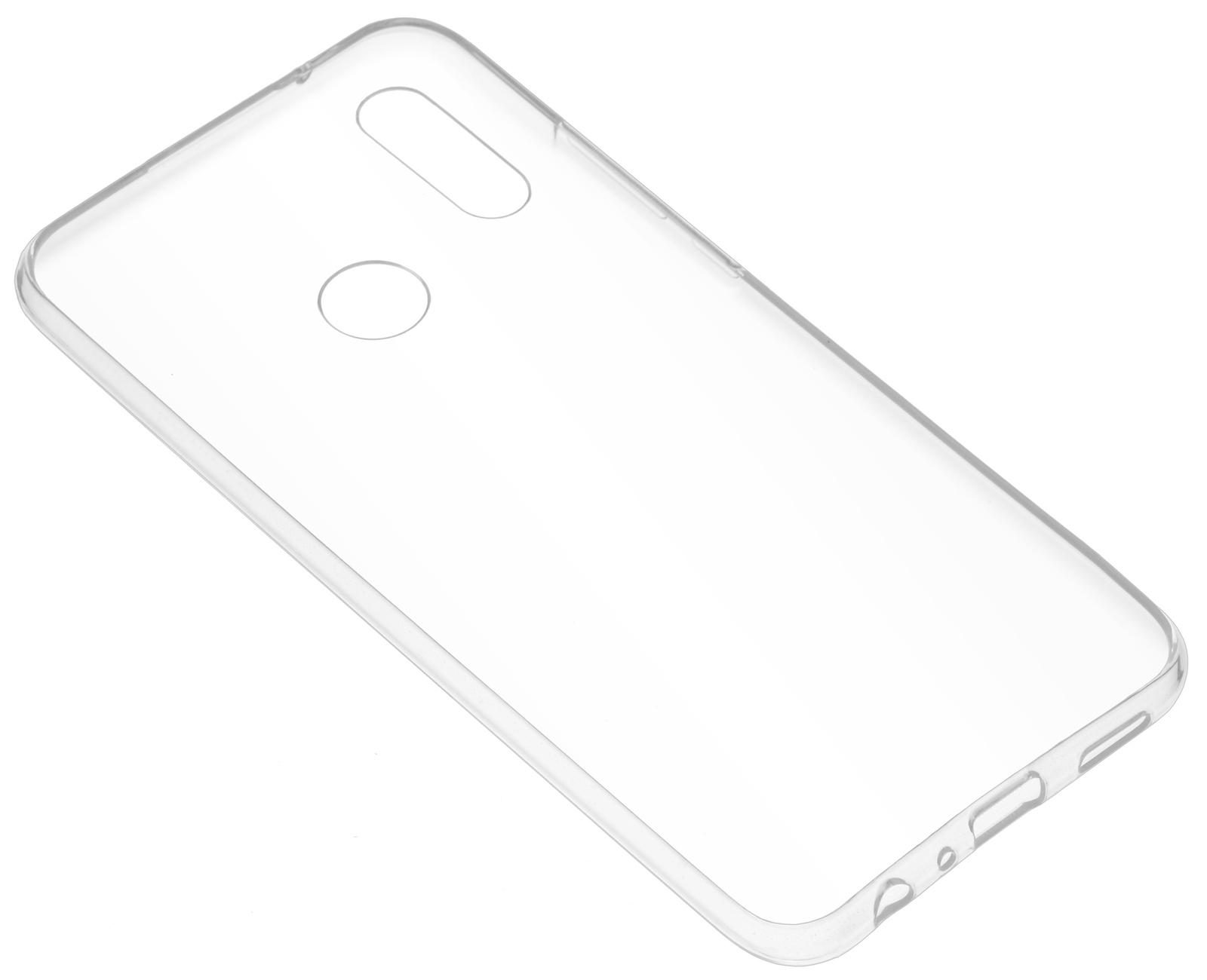Накладка Skinbox Slim Silicone для Huawei Y9 (2019), 4630042521988, прозрачный цена и фото