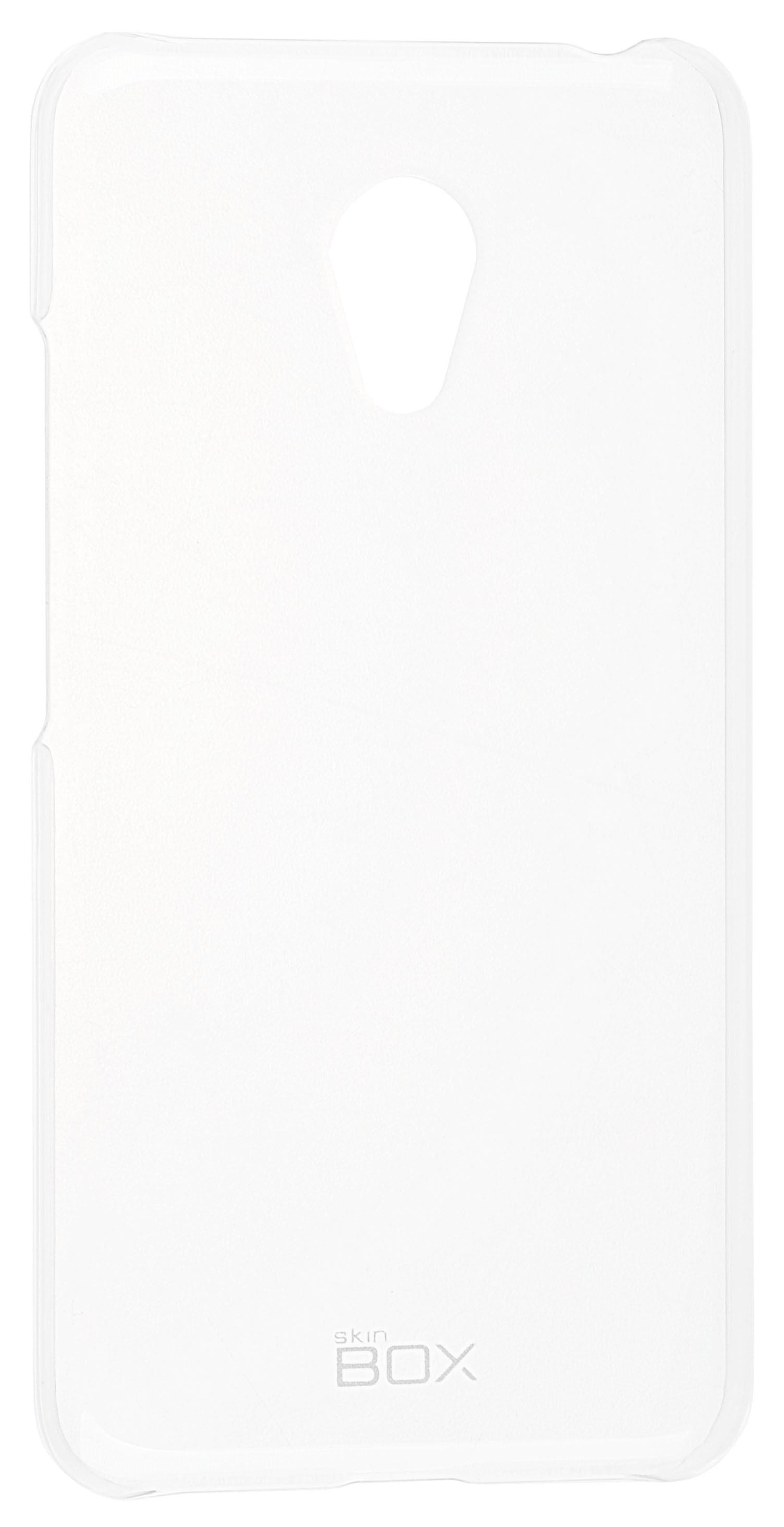 Накладка Skinbox Crystal для Meizu M3 mini, 2000000092591, прозрачный аккумулятор для телефона ibatt bt68 для meizu m3 mini m688c m3