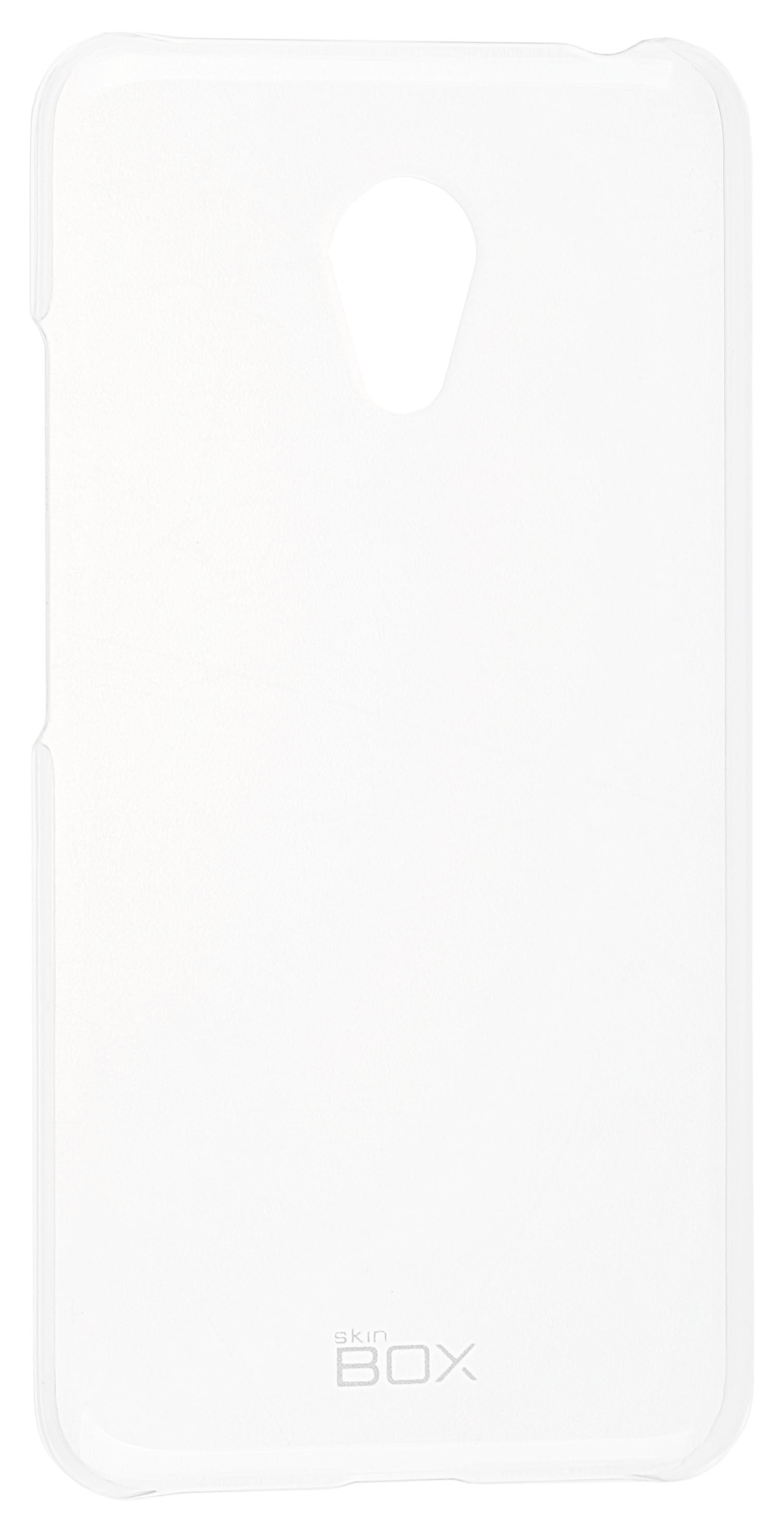 Накладка Skinbox Crystal для Meizu M3 mini, 2000000092591, прозрачный чехол для meizu m3 note skinbox lux черный