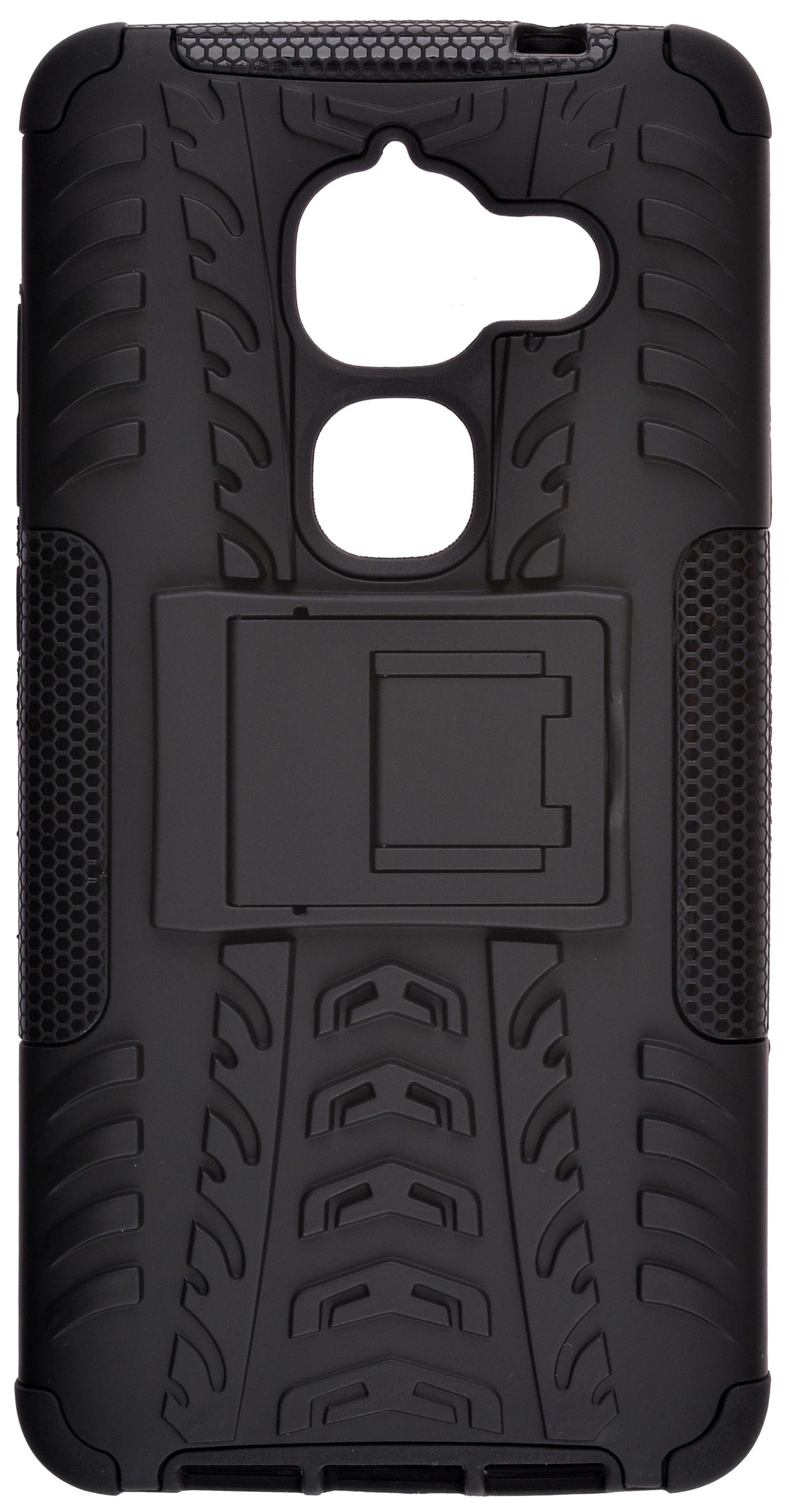 Накладка Skinbox Defender для LeEco LE Max 2, 2000000111186, черный цена