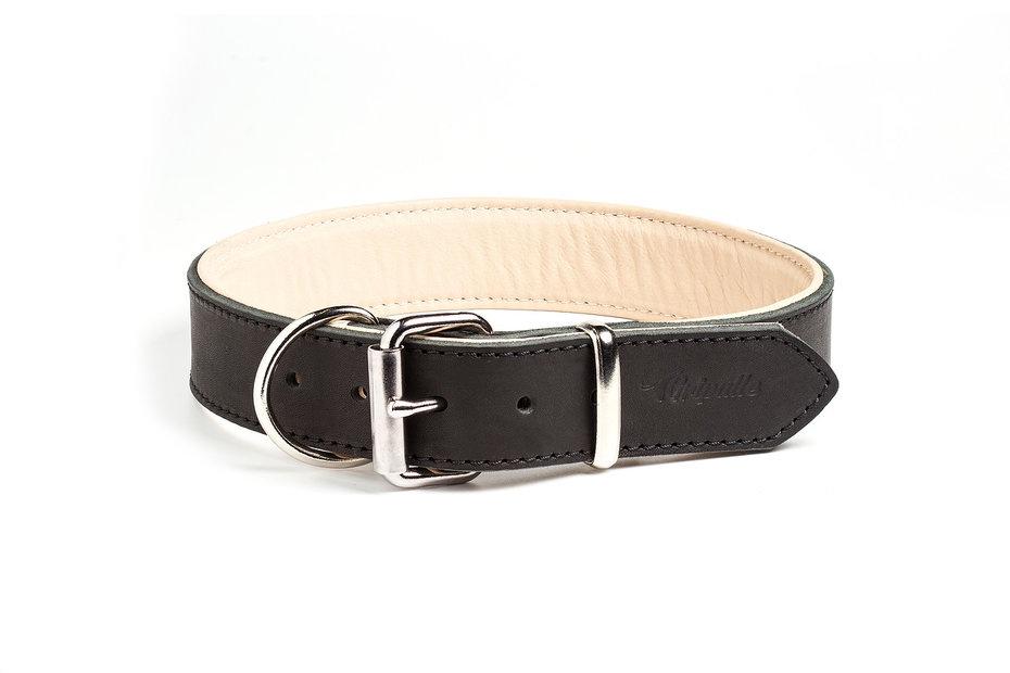 Ошейник для собак Gripalle Грос, 70705, черный