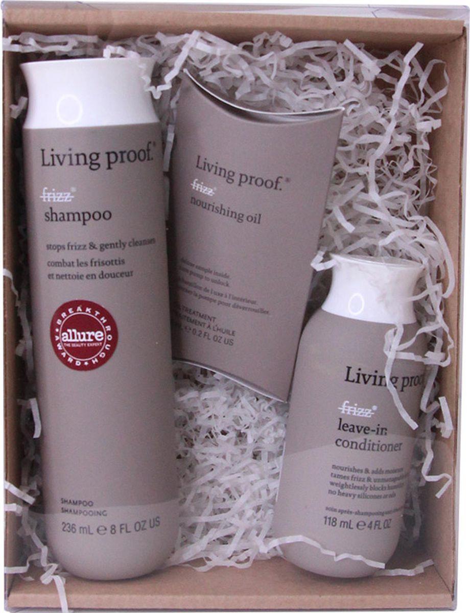 Косметический набор для волос Living Proof No Frizz