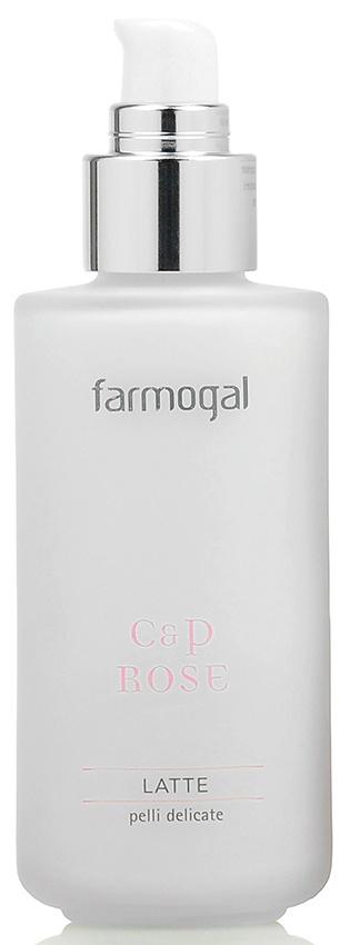 Очищающее молочко для чувствительной кожи склонной к куперозу Farmogal C&P ROSE MILK, 125 мл уход за кожей склонной к куперозу