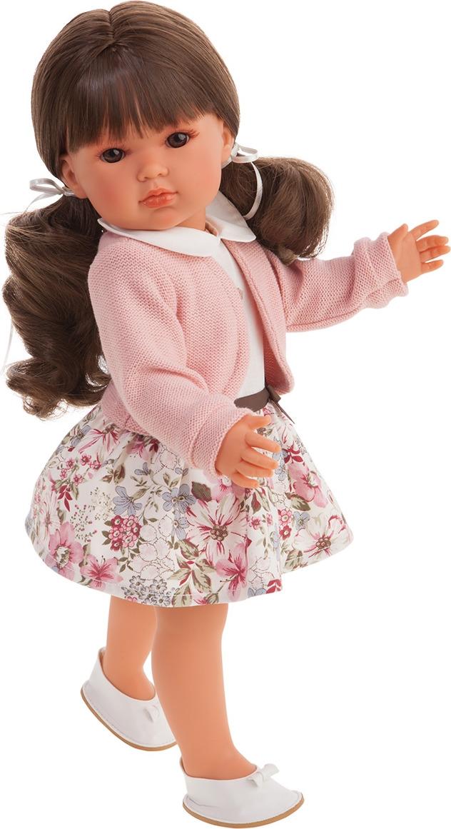 """Кукла Munecas Antonio Juan """"Ясмина с хвостиками"""", 2812P, розовый"""