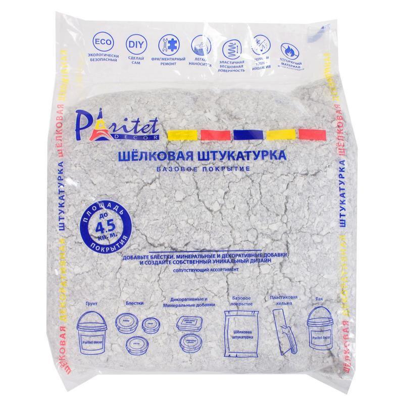 Жидкие обои PARITET Текстурное покрытие №12 - кварцевый 1кг