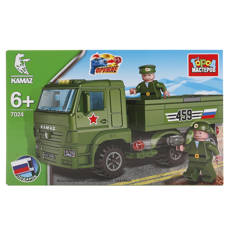 Пластиковый конструктор Город мастеров КАМАЗ, 243453
