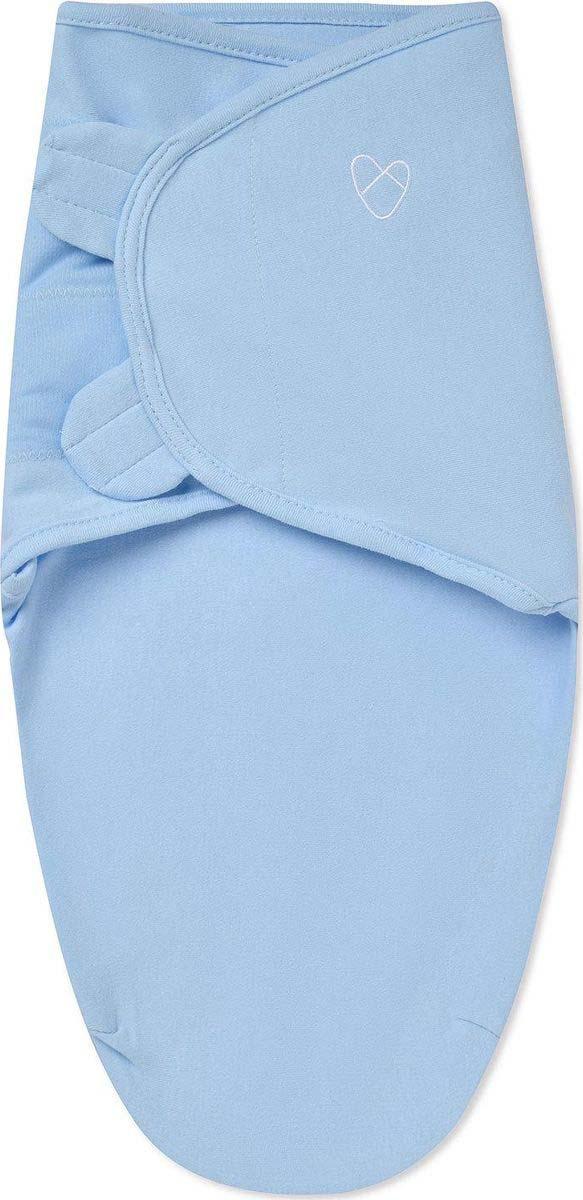 Конверт на липучке для новорожденных Summer Infant Swaddleme, цвет: голубой. 54470. Размер S/M - для детей от 3 до 6 кг цена 2017