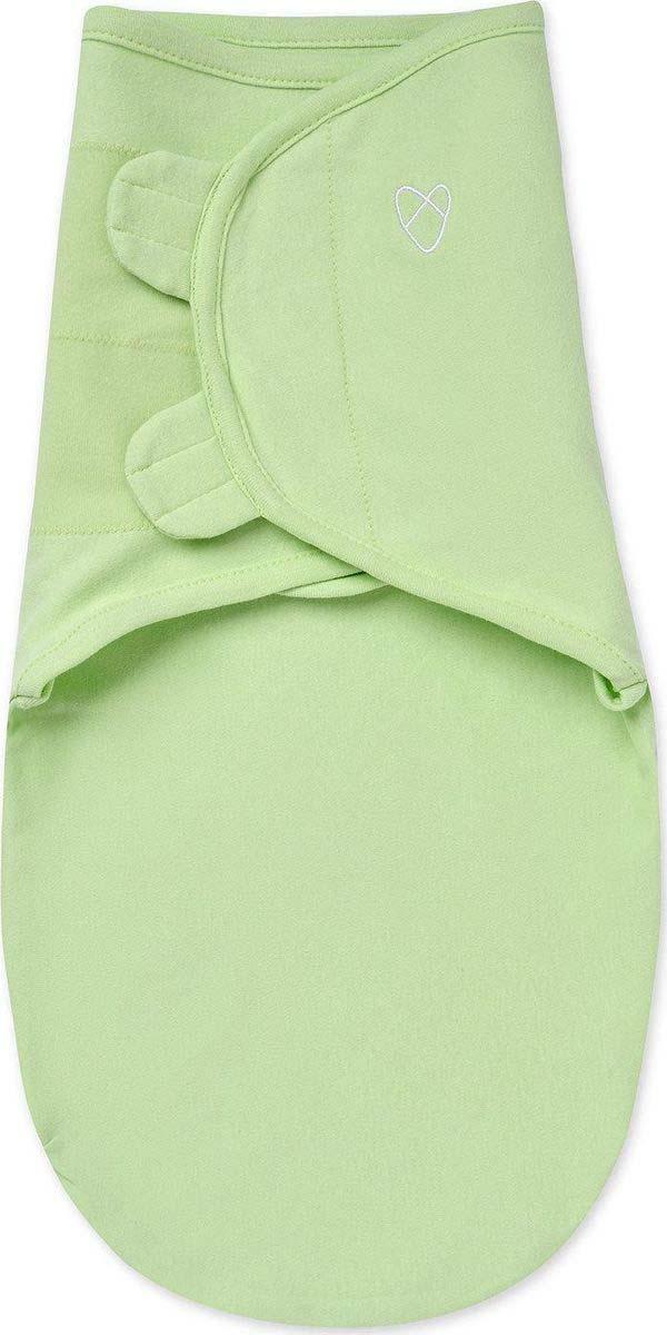 Конверт на липучке для новорожденных Summer Infant Swaddleme, цвет: зеленый. 54480. Размер S/M - для детей от 3 до 6 кг цена 2017