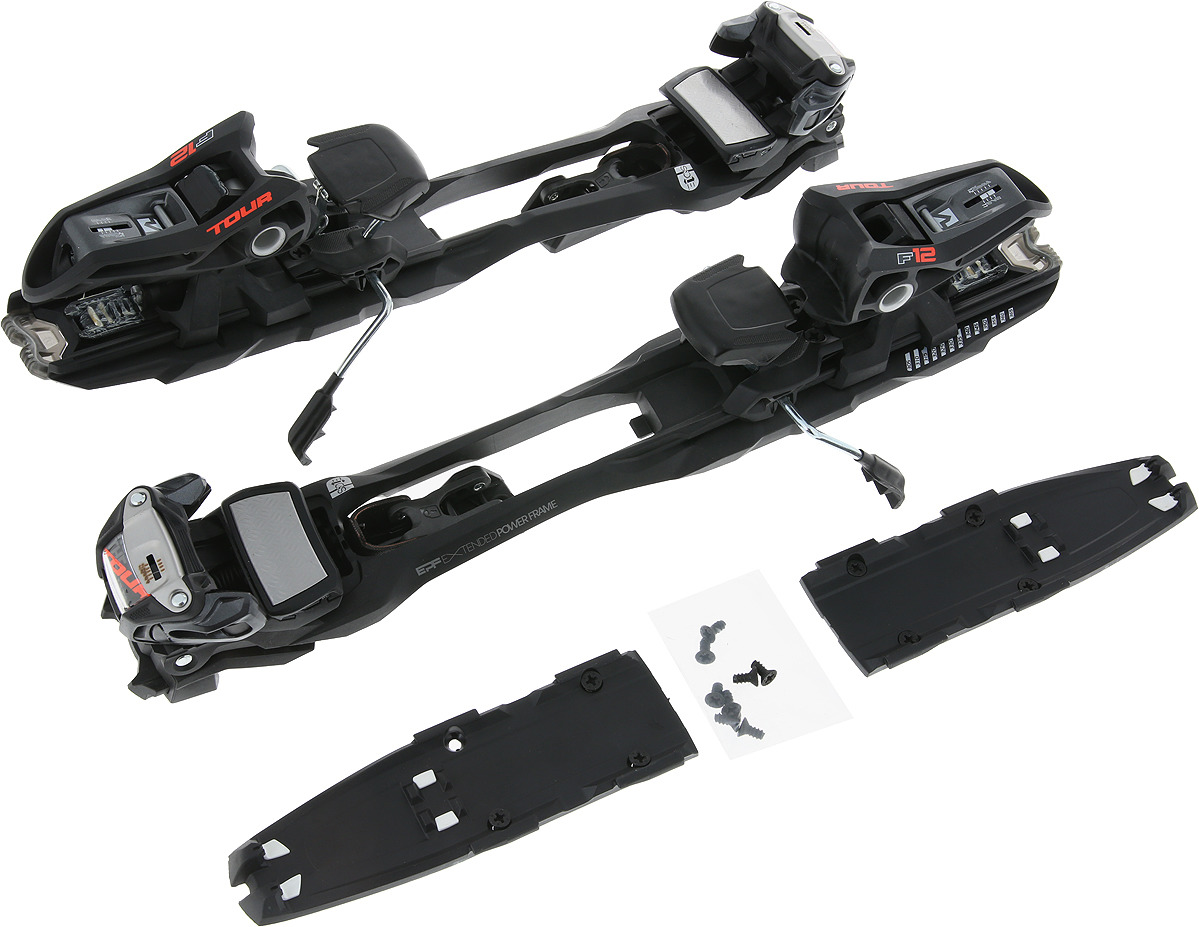 цена на Крепления для горных лыж Marker F12 TOUR EPF, 7816R1.LE, черный, серый, 110 мм