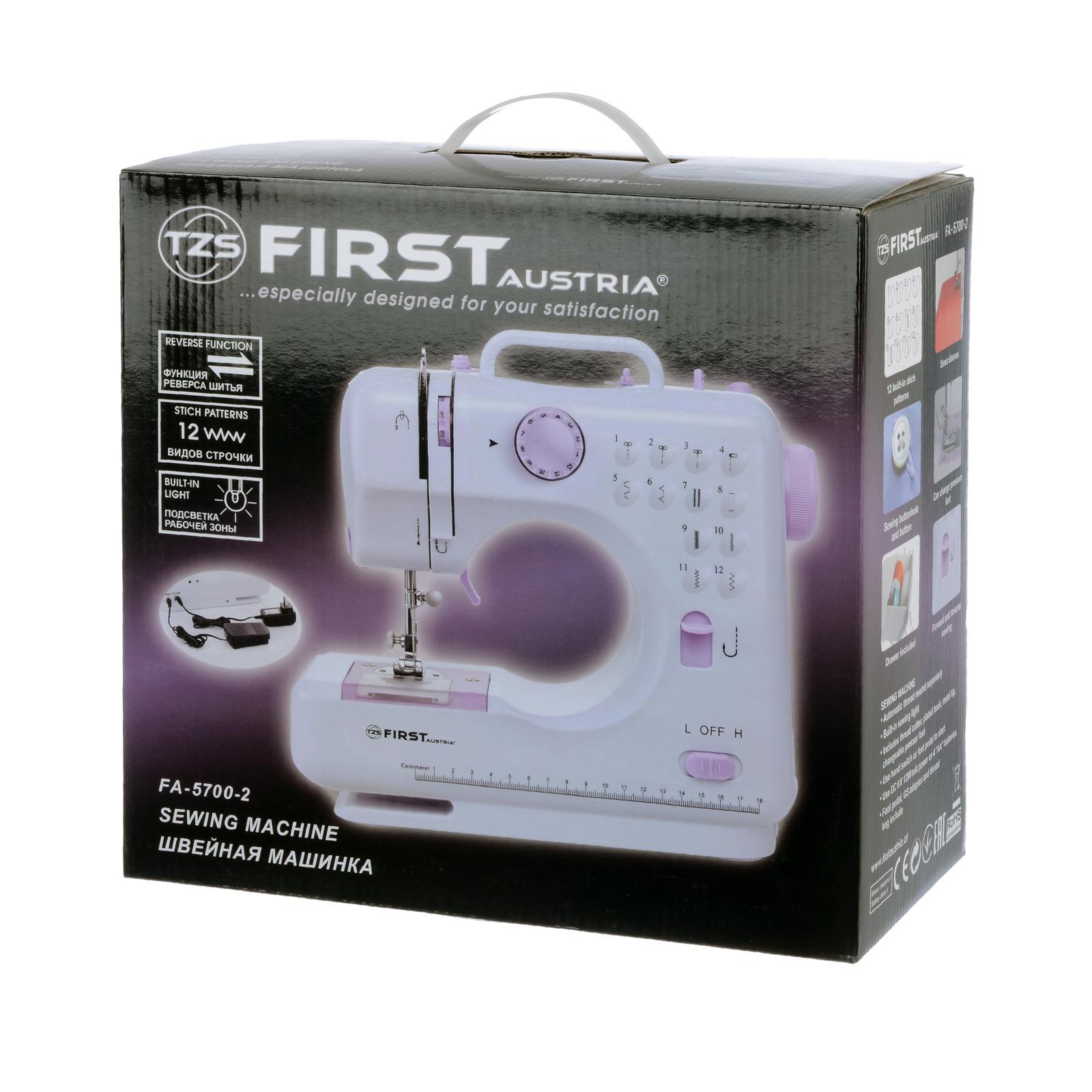 Швейная машина First FA-5700-2 Purple First