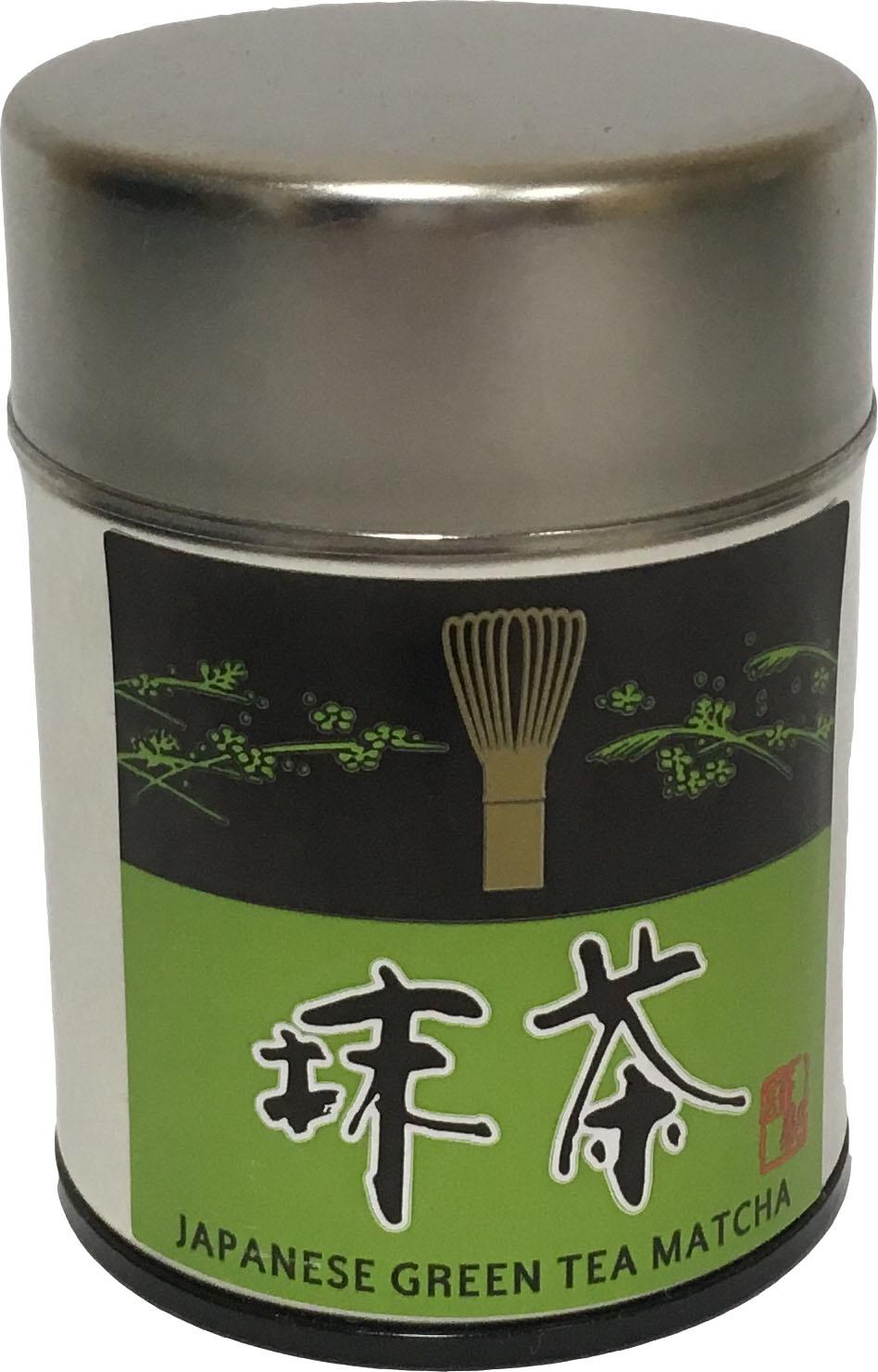 Чай матча Hamasa-En в жестяной банке, 30 г бамбук матча канистра зеленый чай кэдди