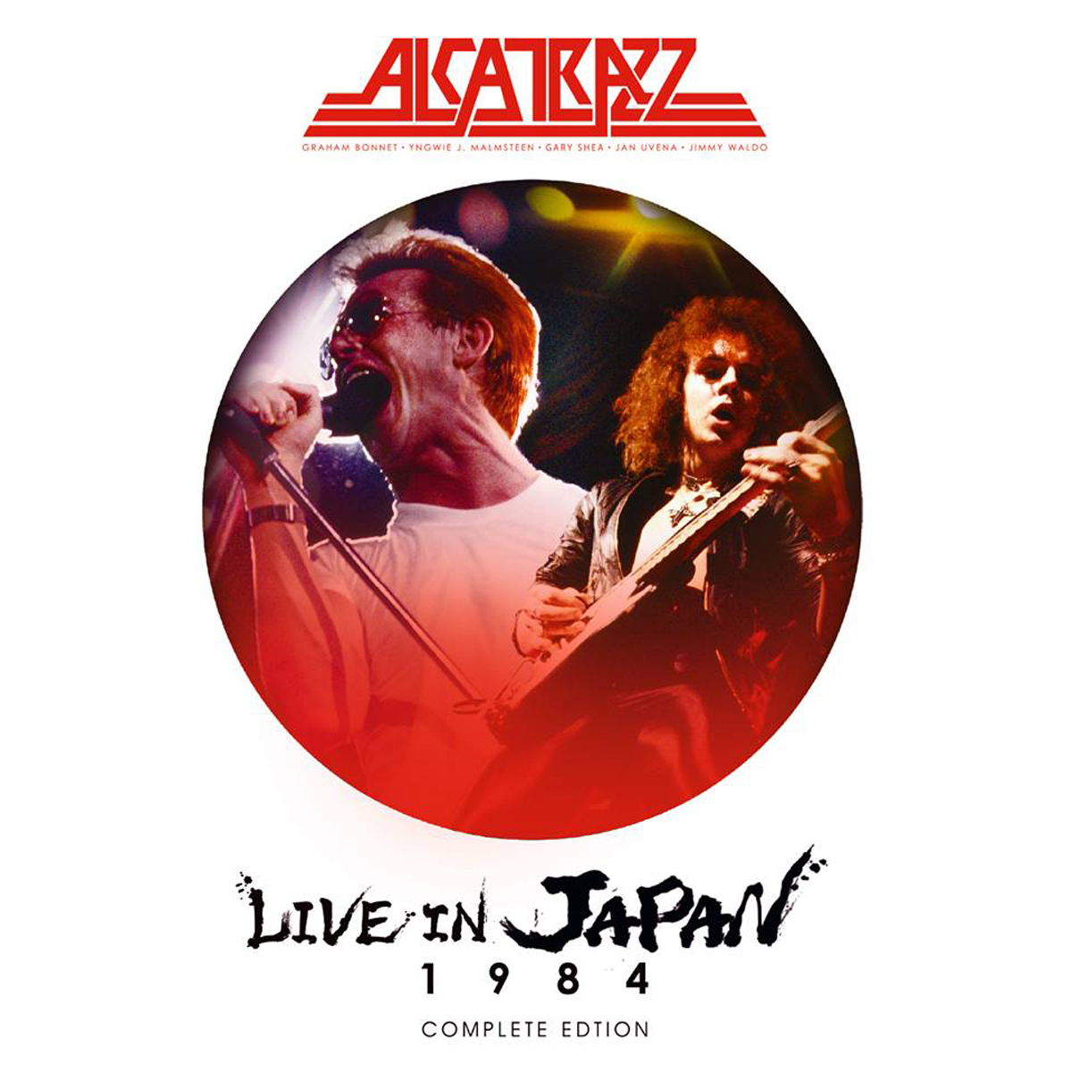 Alcatrazz Alcatrazz. Live In Japan 1984. Complete Edition (2 CD + Blu-Ray) kai hansen thank you wacken live blu ray cd