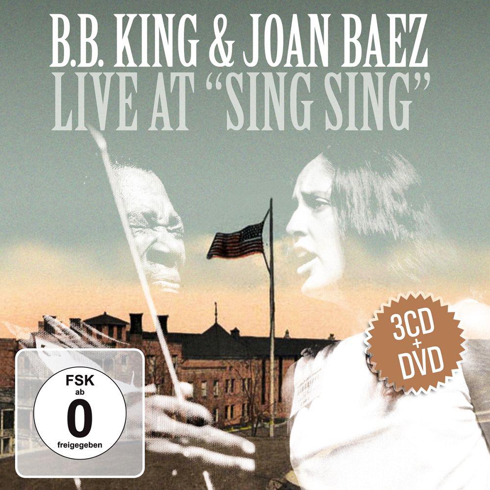 Би Би Кинг,Джоан Баэз B.B. King & Joan Baez. Live At Sing Sing (3 CD + DVD) би би кинг джоан баэз b b king