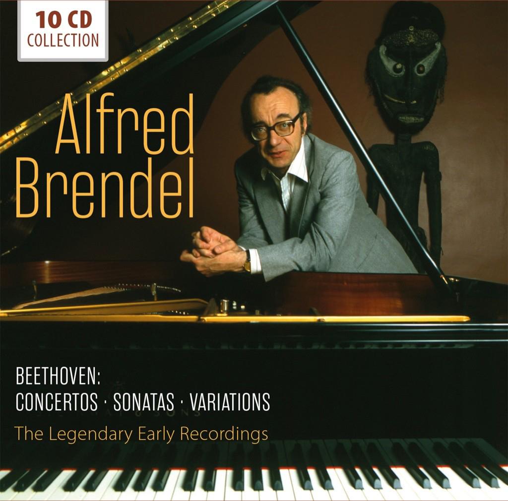 Альфред Брендель Alfred Brendel. Beethoven (10 CD) альфред брендель alfred brendel schubert complete impromptus