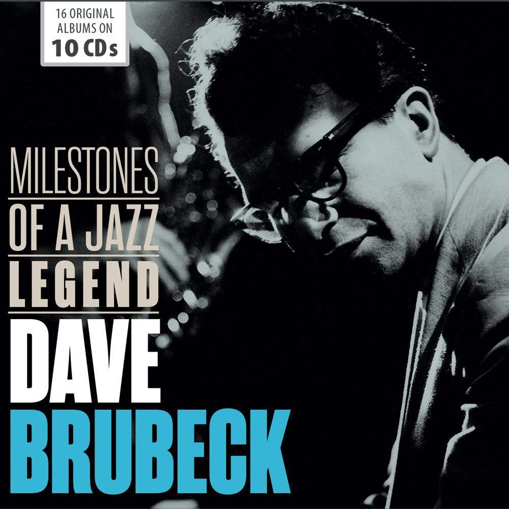 лучшая цена Дэйв Брубек Dave Brubeck. Milestones Of A Jazz Legend (10 CD)