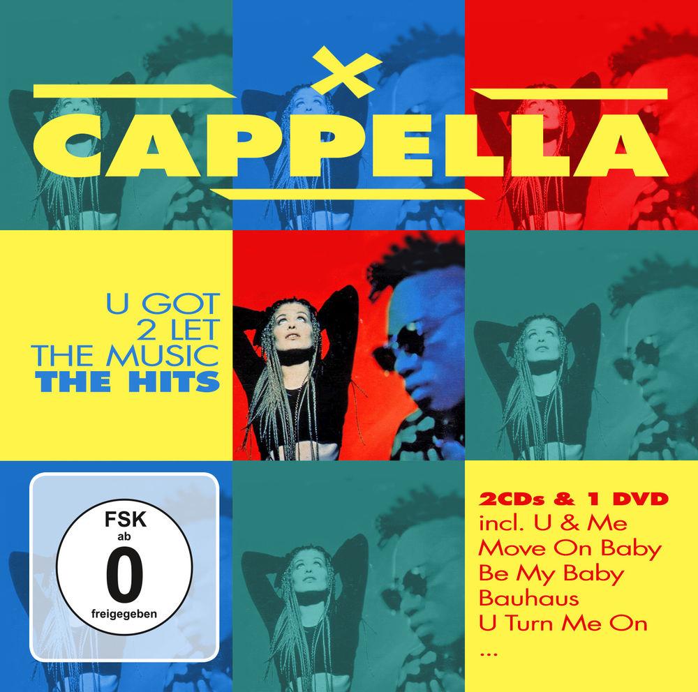 Cappella Cappella. U Got To Let The Music. The Hits (2 CD +DVD) цена