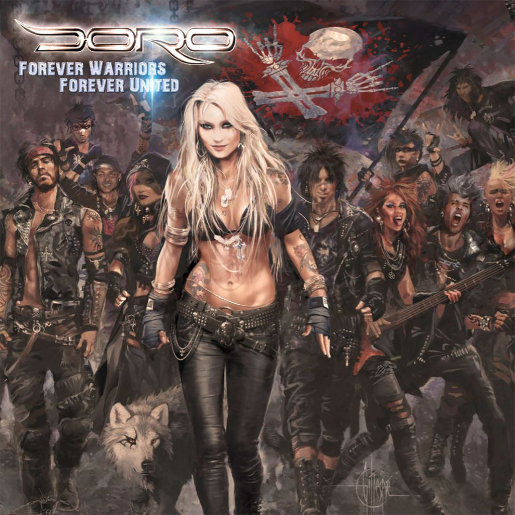 Doro Doro. Forever Warriors (2 LP) doro doro fur immer 2 lp picture disc