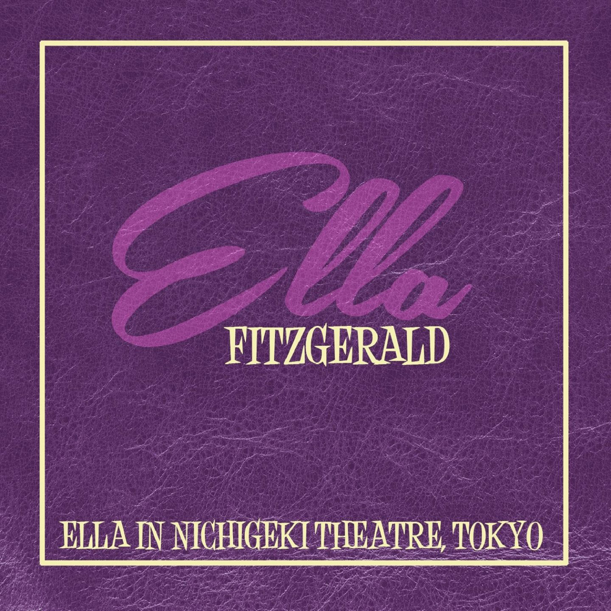Элла Фитцжеральд Ella Fitzgerald. Ella In Nichigeki Theatre, Tok цена
