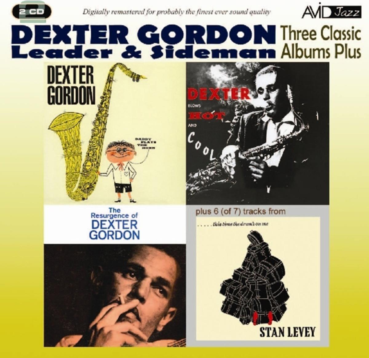 лучшая цена Декстер Гордон Dexter Gordon. Gordon - Three Classic Albums (2 CD)