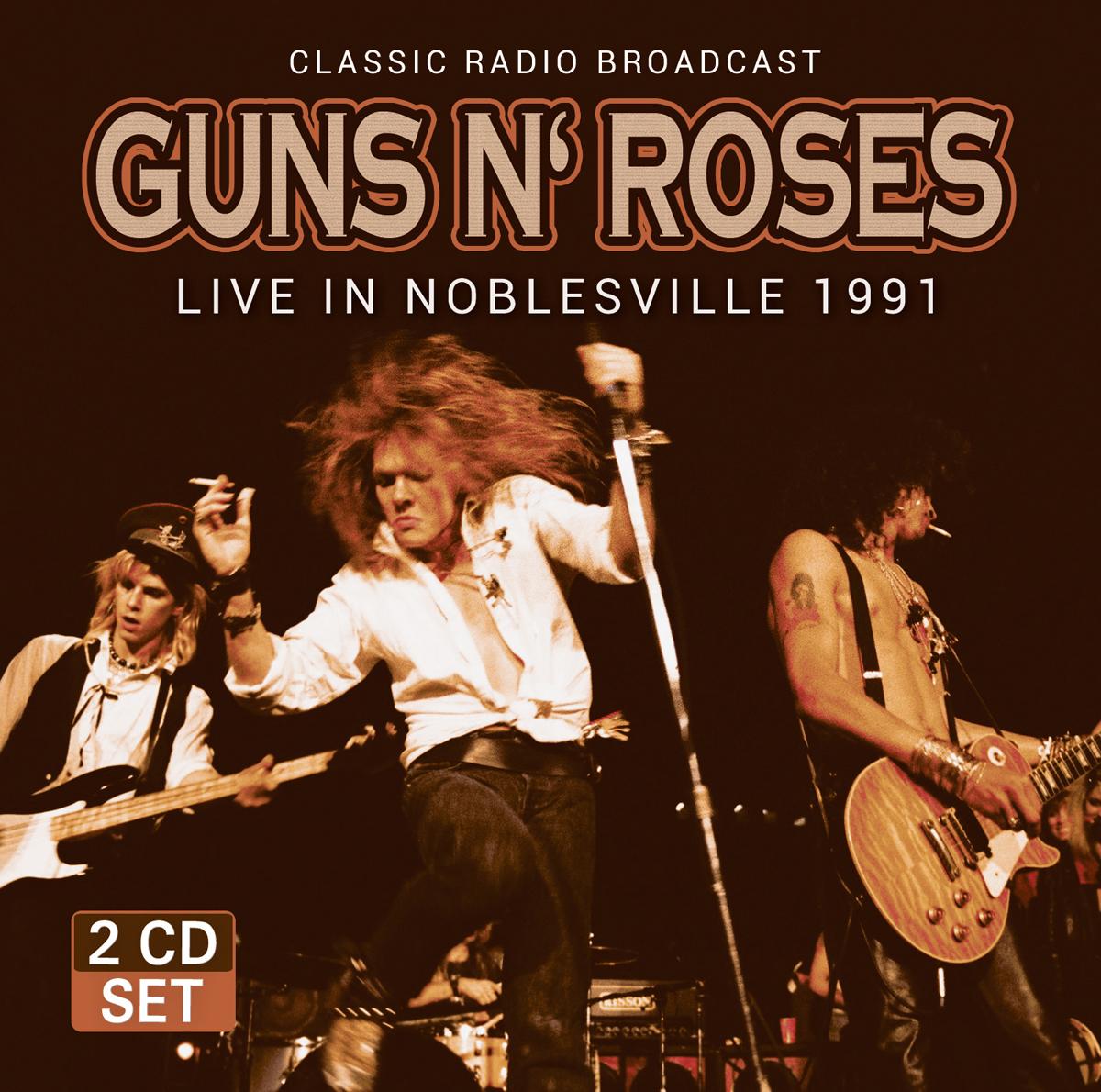 Guns 'N Roses Guns 'N Roses. Live In Noblesville 1991 (2 CD) недорого