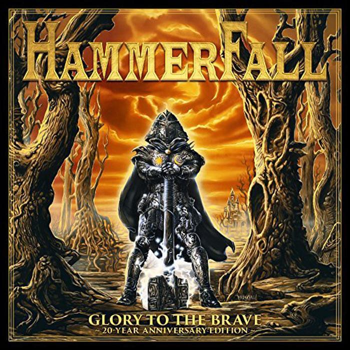 Hammerfall Hammerfall. Glory To The Brave. 20-Year Anniversary Edition (2 LP) superman vol 2 return to glory